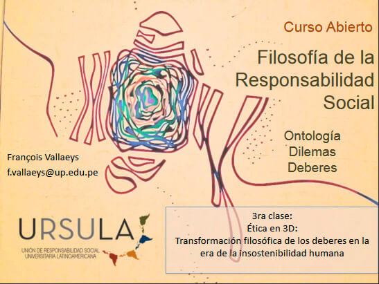 Curso abierto URSULA Filosofia de Responsabilidad Social