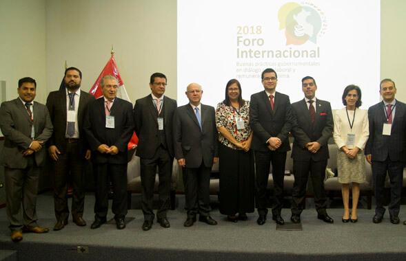 Foro Internacional Diálogo social y remuneración mínima 1